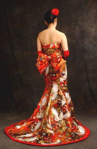 WEDDING DRESSES KIMONO - The Dress Shop