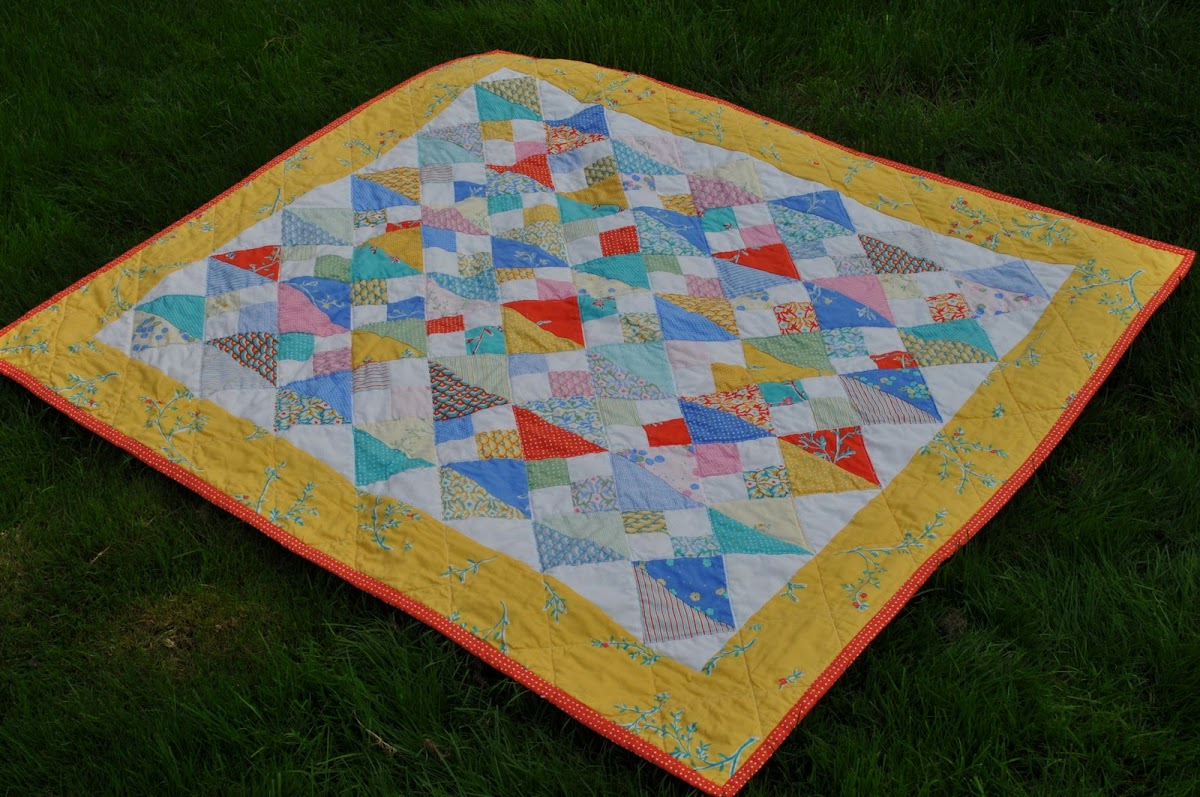City Weekend Baby Quilt - and a giveaway!