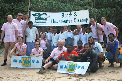Matava and Mad Fish Dive Centre's Efforts