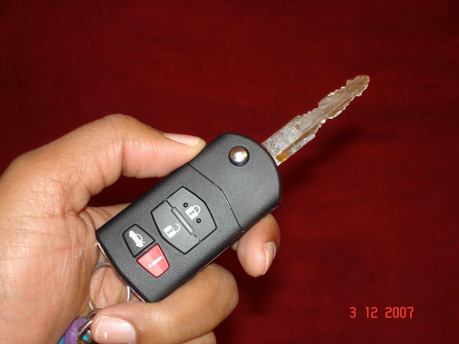 Mazda Mazda6: Keys