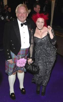 Christopher Biggins and Jane Goldman