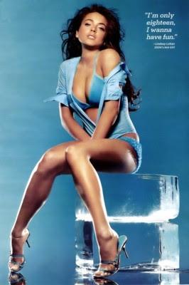 Lindsay Lohan poster