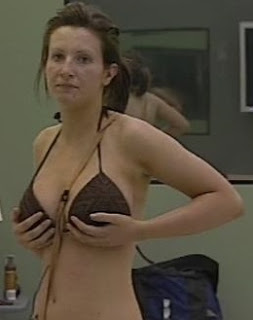 Amy Alexandra holding boobs