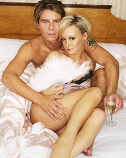 Chanelle Hayes and Ziggy In Bed