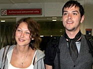 Emma Griffiths and Matt Willis