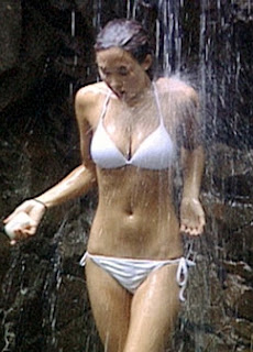 Myleene Klass shower scene from 2006 show