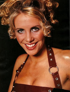 Claire Richerds in her Steps days. Is she heading for the jungle?