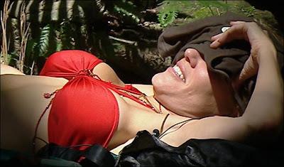 Cerys Matthews red bikini pic