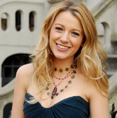 Blake Lively Have hair and a face section
