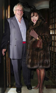 Christopher Biggins and Joan Collins