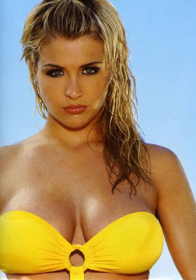 Gemma Atkinson cleavage