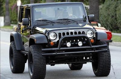david beckham jeep