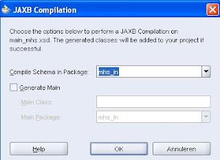 Java / Oracle SOA blog: JAXB 2 0 in JDeveloper 10g and 11g