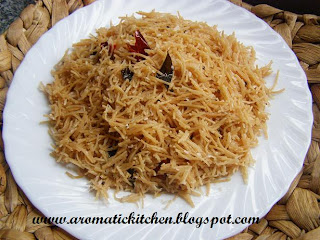 Vermicelli Upma with coconut