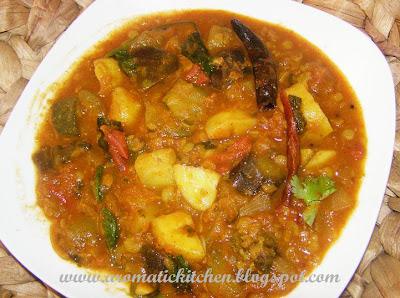 Kerala Special Sambar