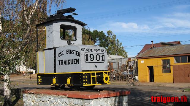 Primera locomotora eléctrica en Sudamérica