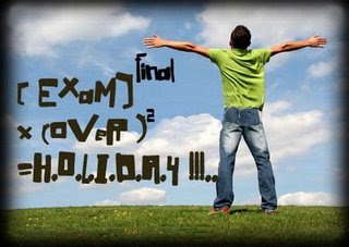 It is what it is! =): finally!!exams are over!!!