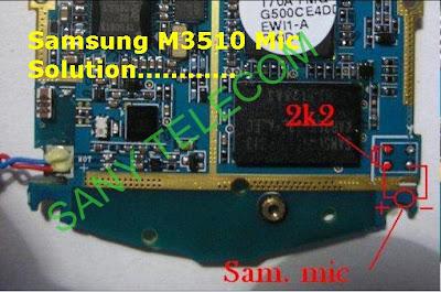 samsungM3510MicSolution