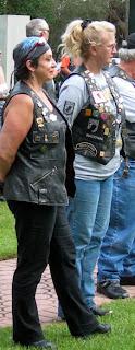 Jewels (right) & friend Linda (left)