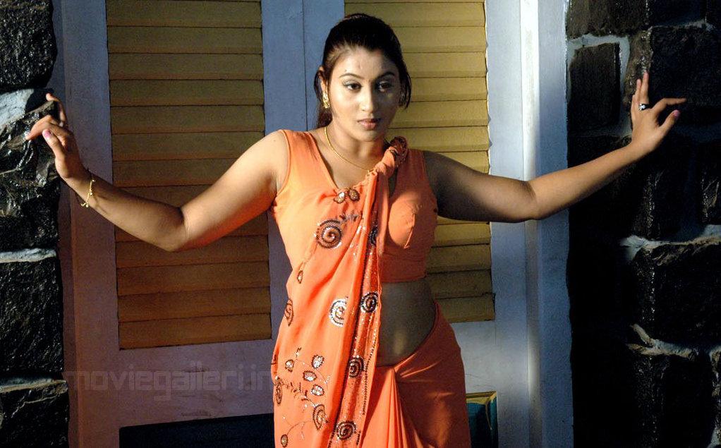 Varshini Hot Saree Stills
