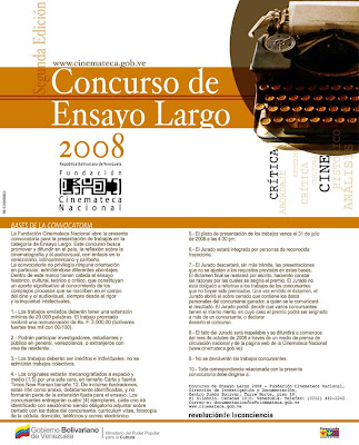 Concursos de ensayo adolescente 2008