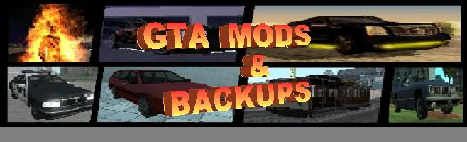 GTA Mods e Backups