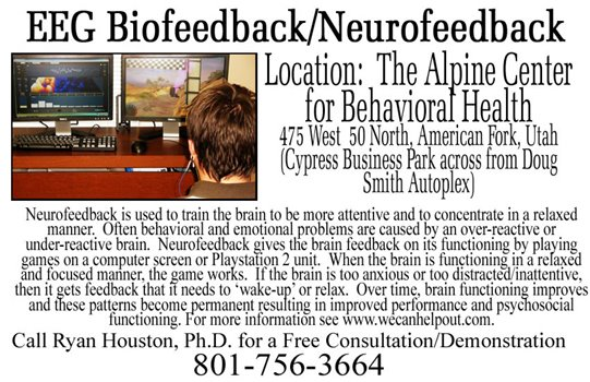 Utah County Neurofeedback