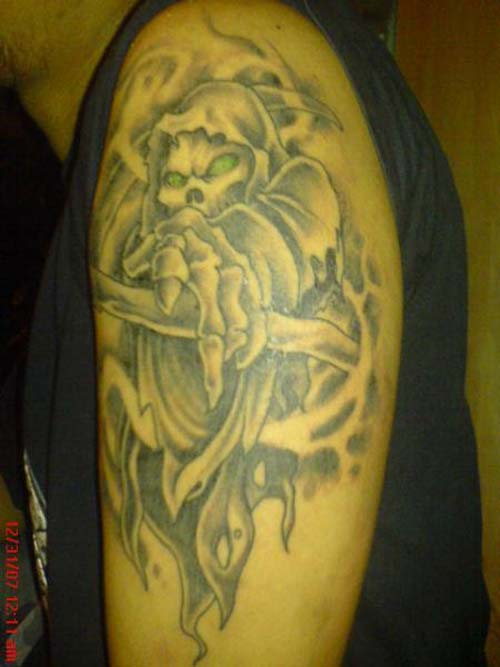 angel of death tattoos design collection