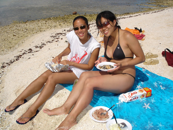 déjeuner au bord de la mer
