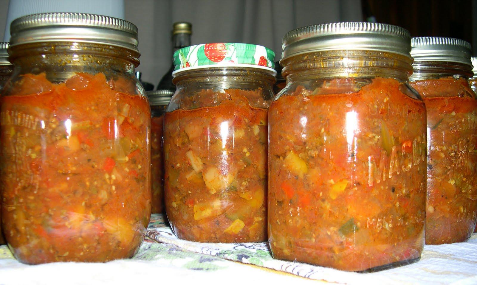 Recettes de conserves maison la sauce spaghetti de for Autoclave pour conserves maison