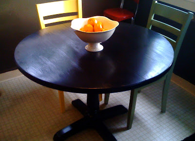 Kitchen Table Makeover Part II