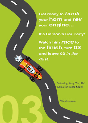 Planning A Race Car Birthday Party