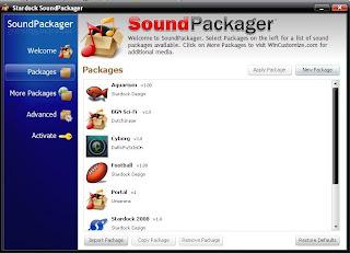 Software Gratis untuk mengganti suara Windows XP