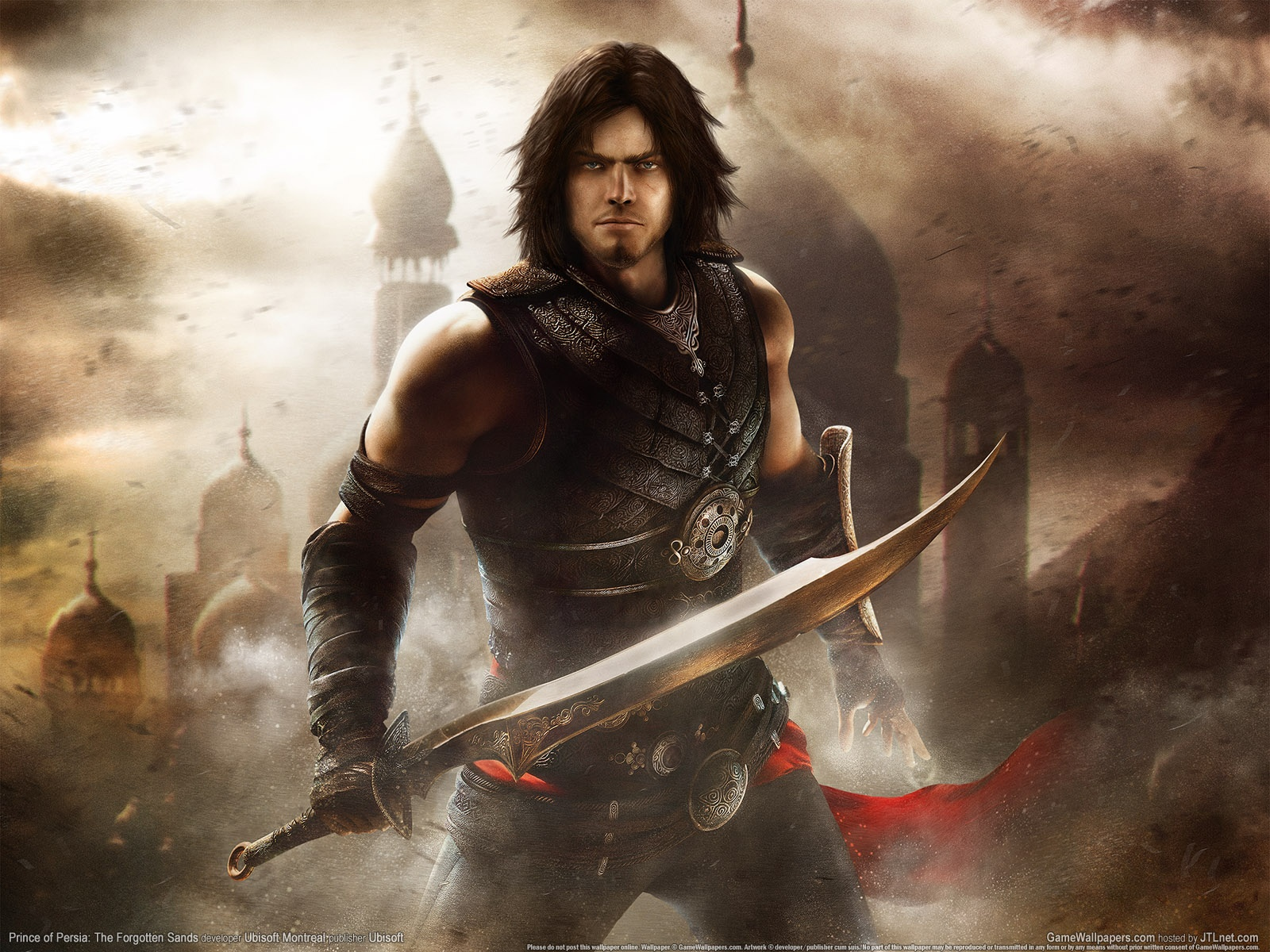 Prince Of Persia Forgotten Sands Wallpapers