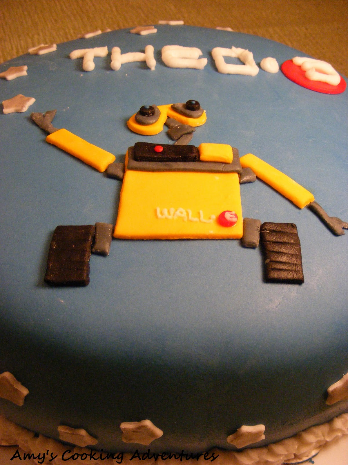 At The Time He Watched Movie Wall E Nearly Everyday So I Knew Hed Love A Themed Cake