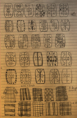 iron mitten: Shield Designs for Celtic and Germanic units