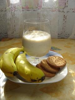 Batido+de+Plátanos+con+Galletas