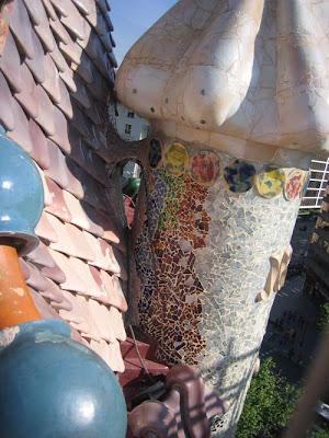 La belle auberge: barcellona casa batlló antoni gaudí