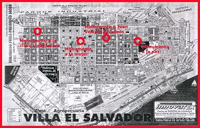 Monumenta proyecto de intervenci n urbana for Plano de villa el salvador