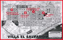 mapa de las intervenciones