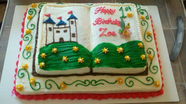 Legacy Cakes Zoe S 1st Birthday Cake