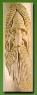 Sherwood Creations Carving Faces In Hiking Sticks