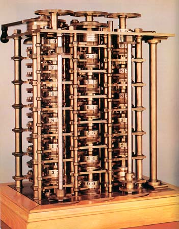THE RISE OF THE COMPUTER: Difference engine