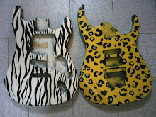 DECORACION DE GUITARRAS ELECTRICAS