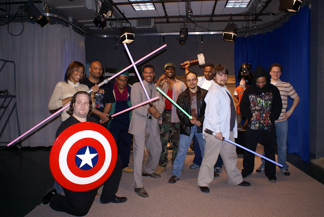 Cast and Crew Ready for Battle