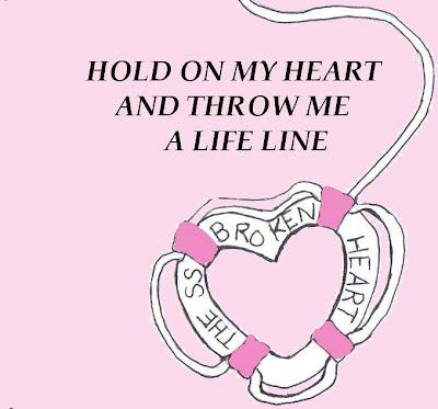 SS BROKEN HEART SHIP OF BROKEN HEARTED LOVERS