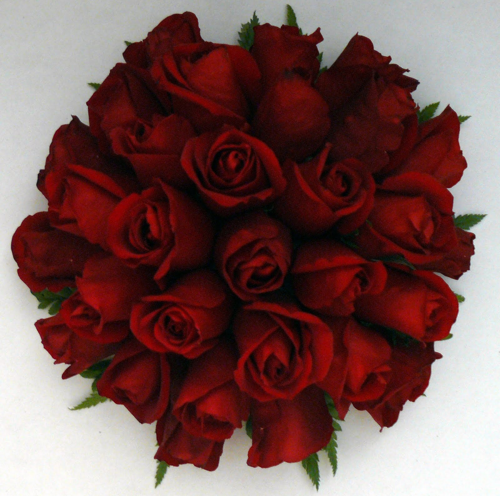 Red Rose Wedding Flowers: 1000+ Images About Red Rose Bridal Bouquets On Pinterest