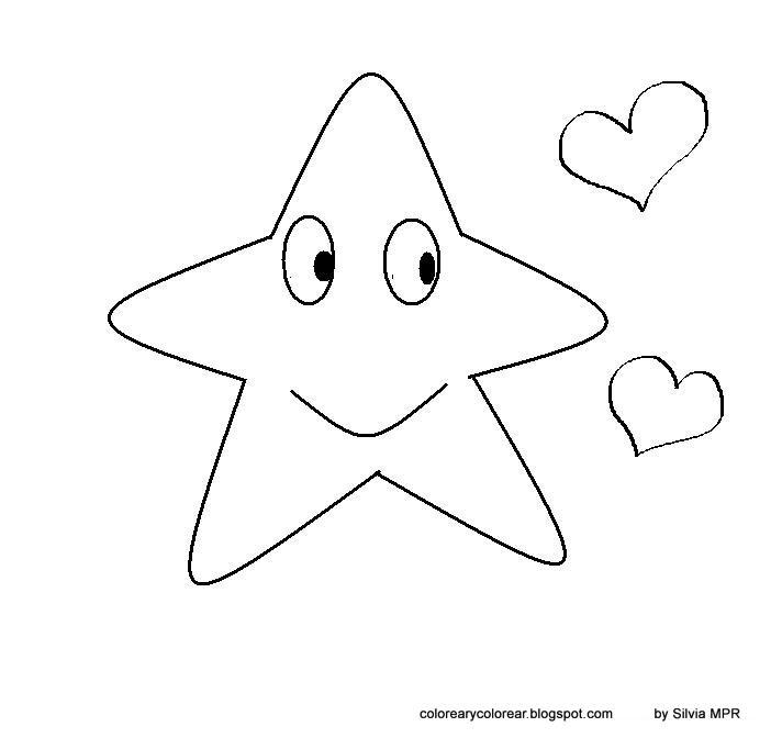 Imagenes Para Colorear De Estrellas