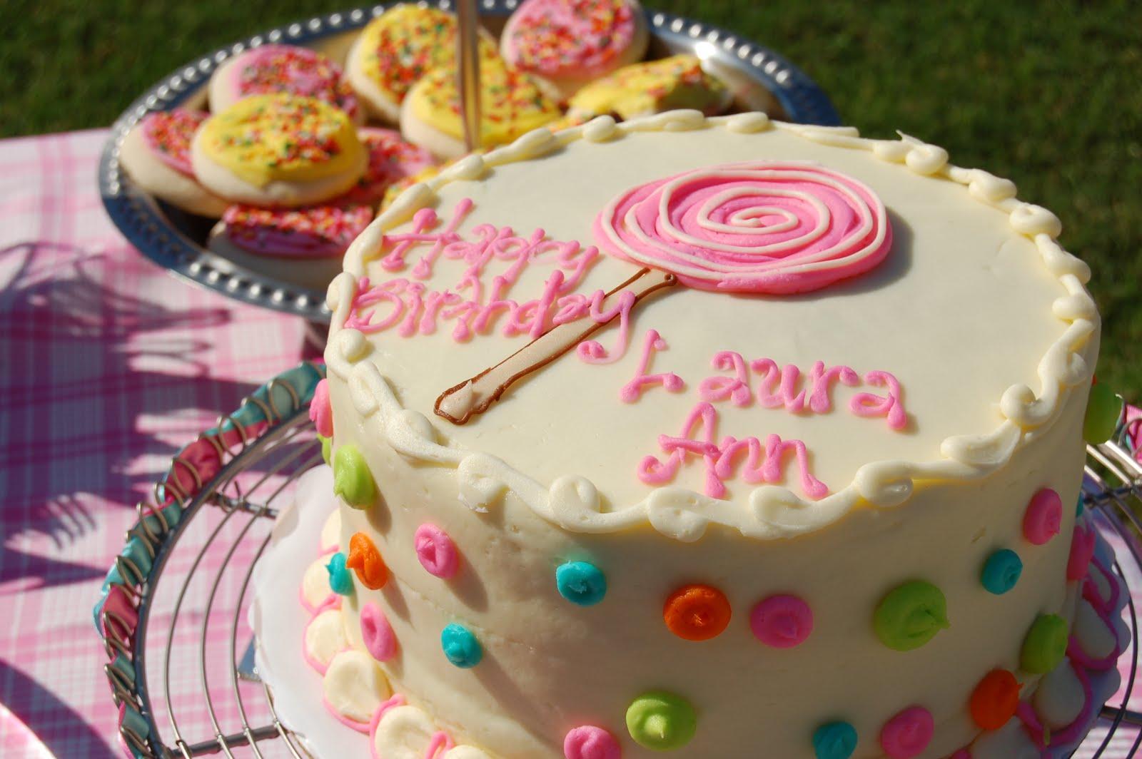 Happy Birthday Laura Cake Brithday Cake