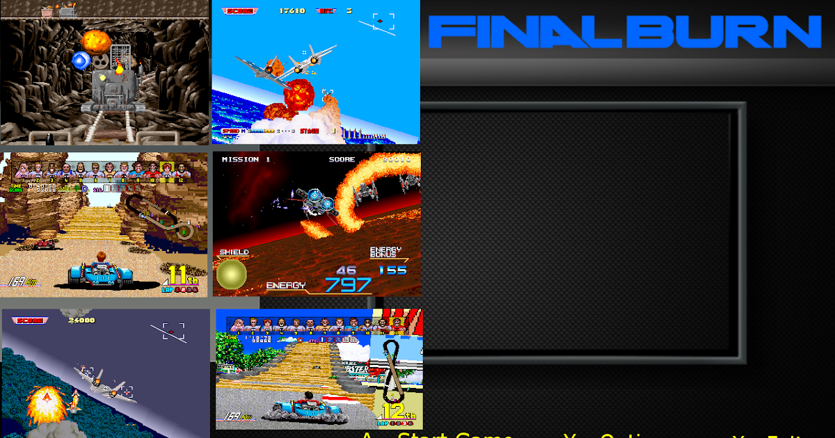 Mame gui Background Images